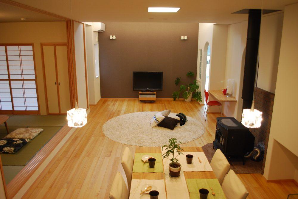 奈良の気候に適した自然の潤いが息づく木の住まい