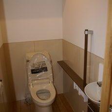お掃除が楽なトイレ